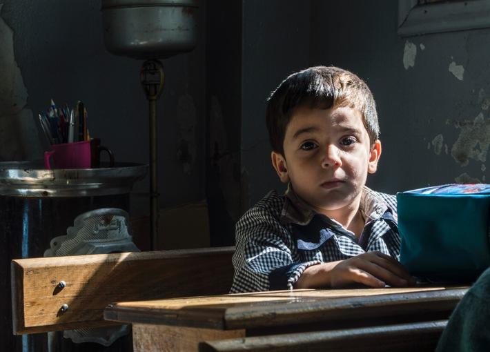 Junge in Syrien. Foto: obs/SOS-Kinderdörfer weltweit
