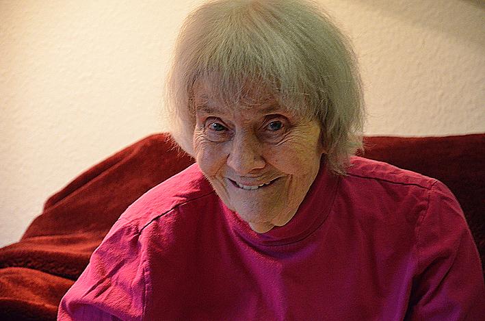 Kurz vor dem 100. Geburtstag: Dorothea Buck. Foto: Hinrichs