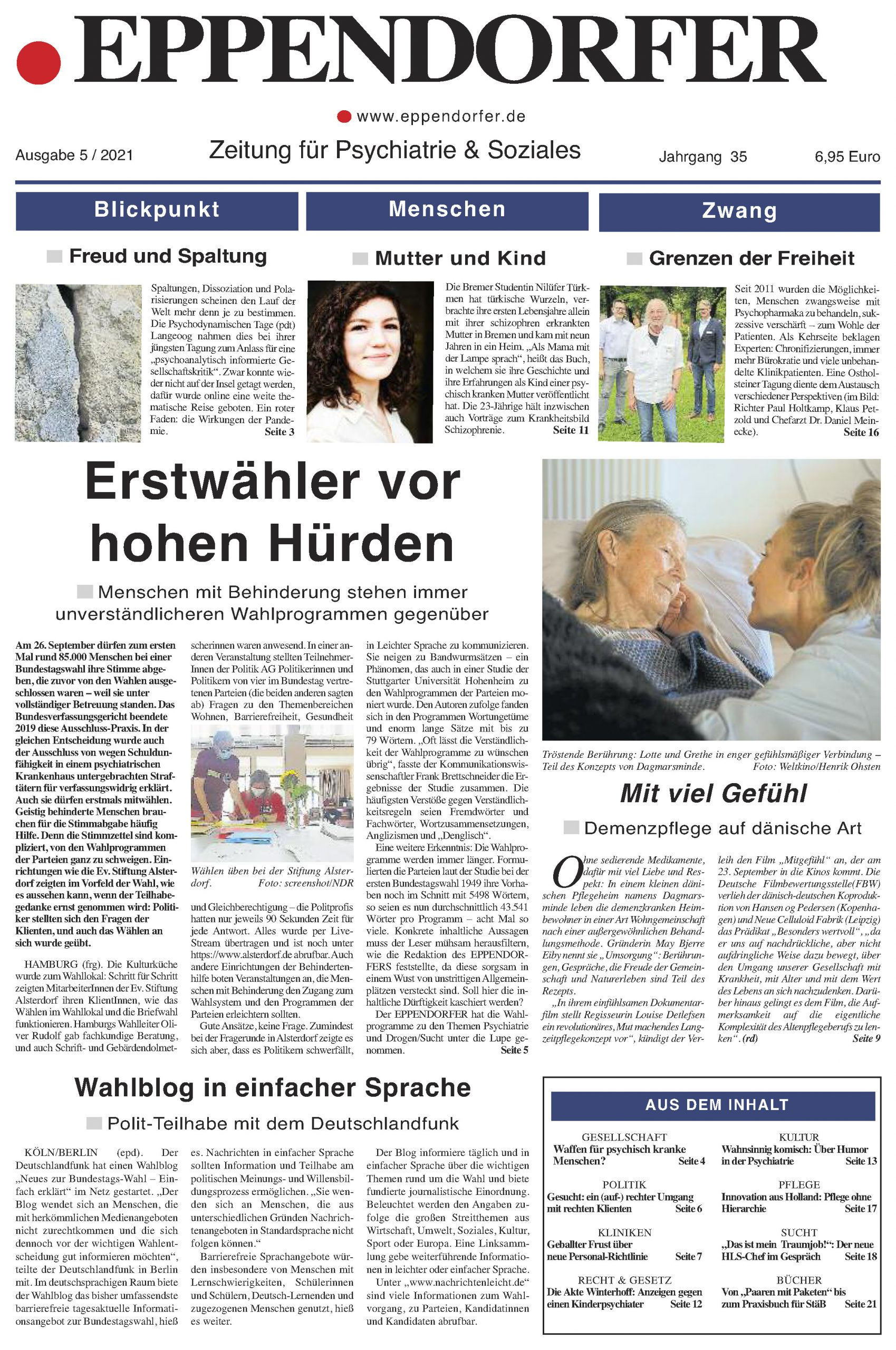 Aktuelle Ausgabe Eppendorfer